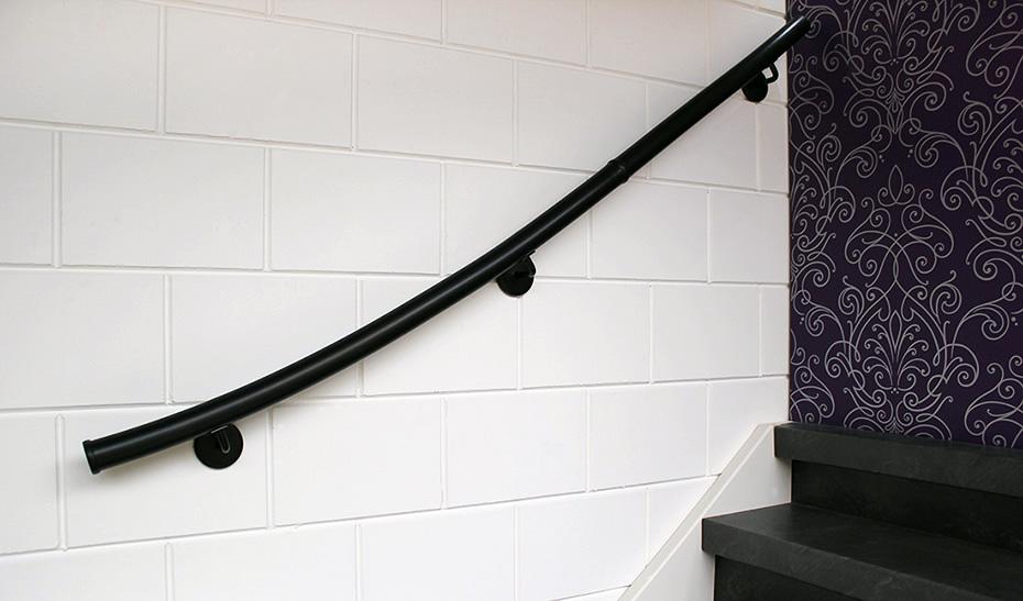 Complete trapleuning set zwart